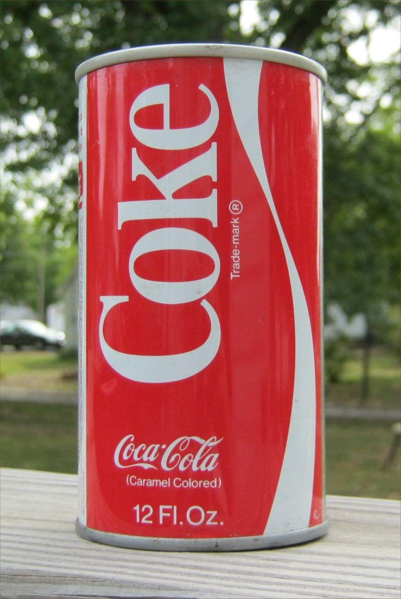 Coke Soda Can