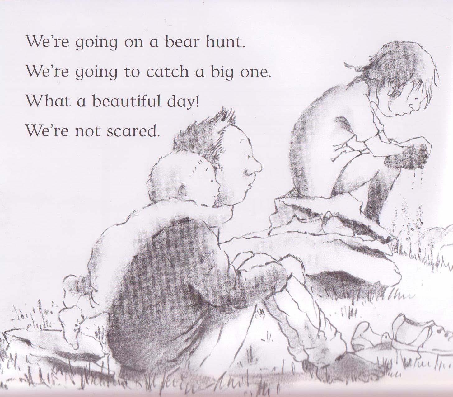 bear hunt coloring pages - photo#36
