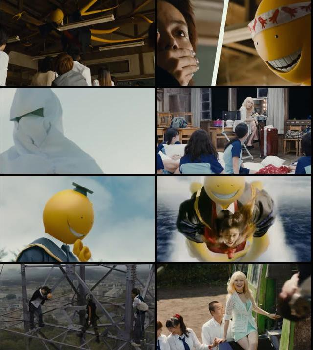 Assassination Classroom 2015 BluRay 720p 500MB