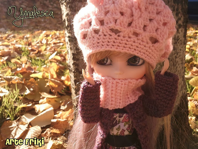 pullip banshee crochet hat ganchillo gorro doll clothes