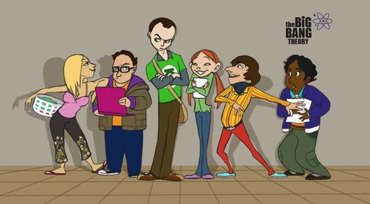The Big Bang Theory fanart por foolspot