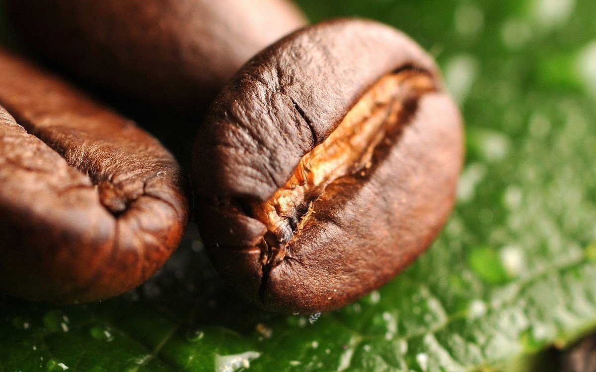 Coffee Beans Widescreen HD Wallpaper 2