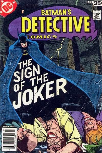 Portada de Batman Detective Comics #476