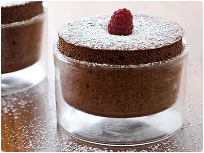 Cake Recipe: Easy and best dark chocolate souffle recipe