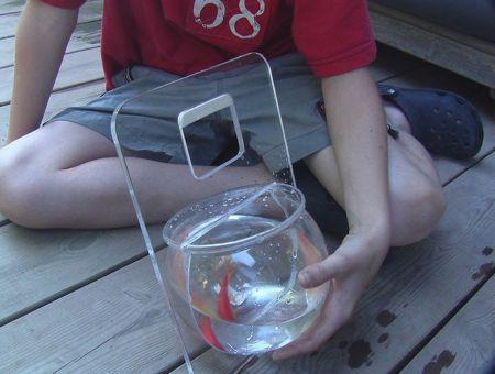 Portable Fish Bowl Aquarium Spicytec