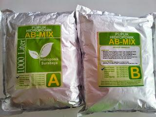 Jual Pupuk AB mix atau Nutrisi khusus Sayuran Daun