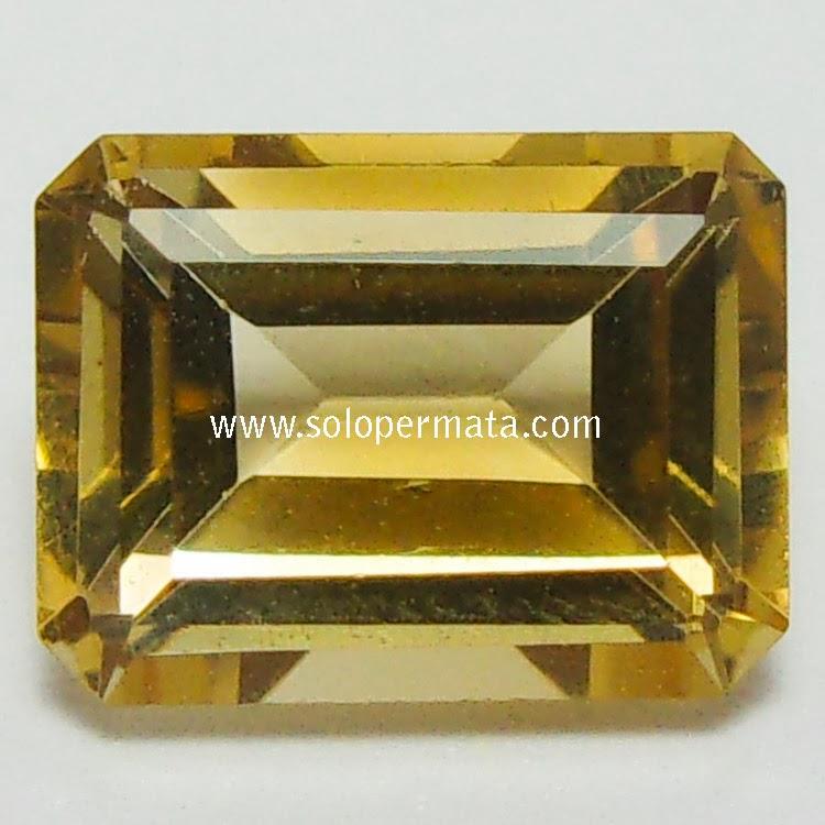 Batu Permata Yellow Citrine - 02B12