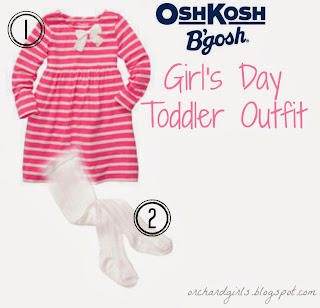 "Toddler ""Girl's Day"" Outfit from #OshKoshBgosh"