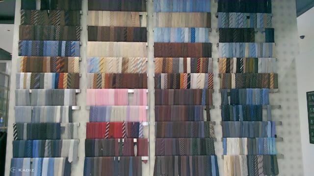 ties wall