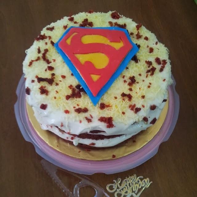 Utk Tempahan : Red Velvet Cake Meleleh