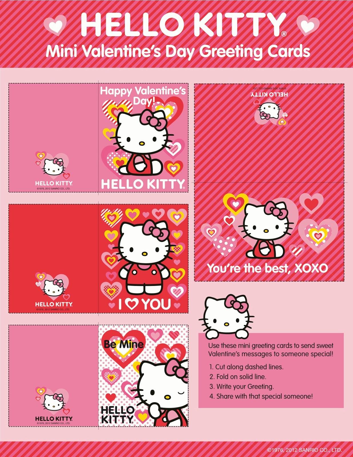 I love Kawaii Mini Valentines Day Card From ToyRUs – Mini Valentine Cards