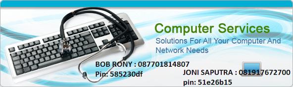 R J Computer  INSTAL & SERVICE LAPTOP DAN KOMPUTER BARU / LAMA