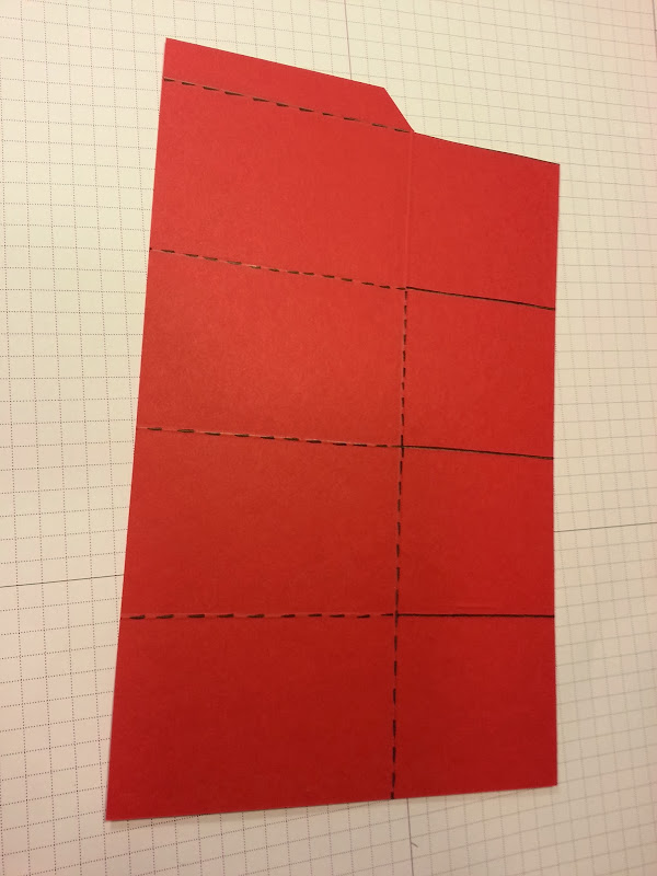 How to make a 'Card in a Box' that will fit in an A2 size envelope. title=