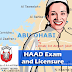 HAAD Exam application and licensure