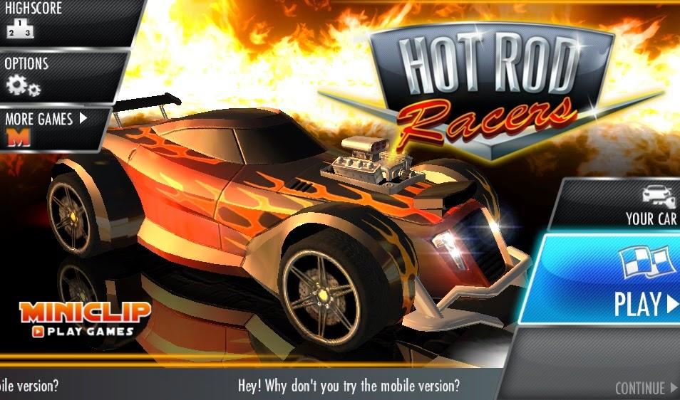 Juegos gratis de carros - Hot Rod Racers