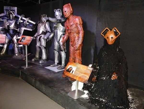 Doctor Who Cybermen exhibit