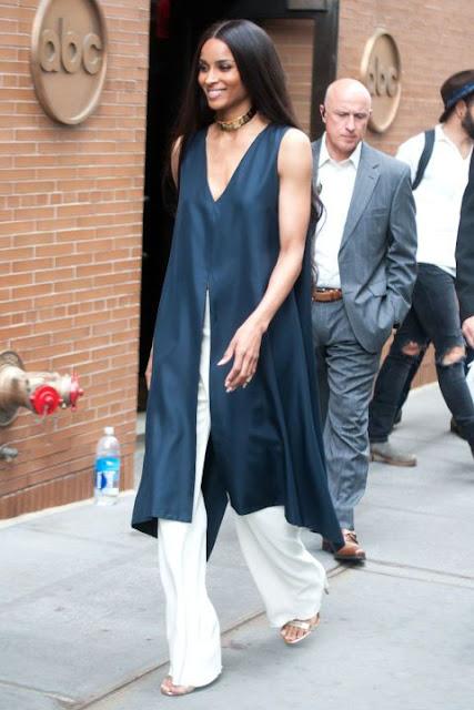 7 dias sete looks da cantora americana Ciara P. Harris