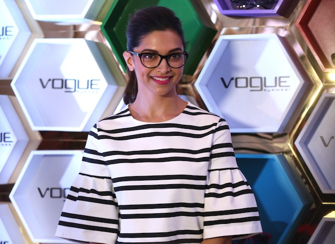 40fab8f594996 Vogue Eyewear launches the Fashion Story  3 Collection with Deepika Padukone