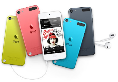New Apple iPod Touch in Different Colors