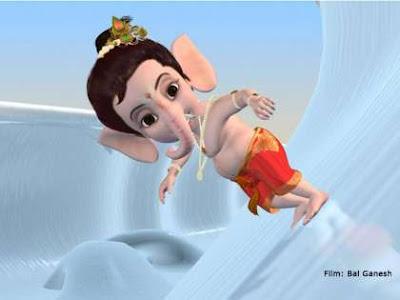 Child Ganesha Picture