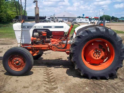 david brown tractor salvage