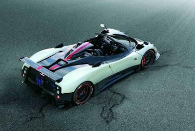 Fast cars - Pagani Zonda Cinque Roadster