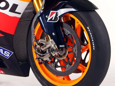 2011 Repsol Honda RC212V MotoGP Brake