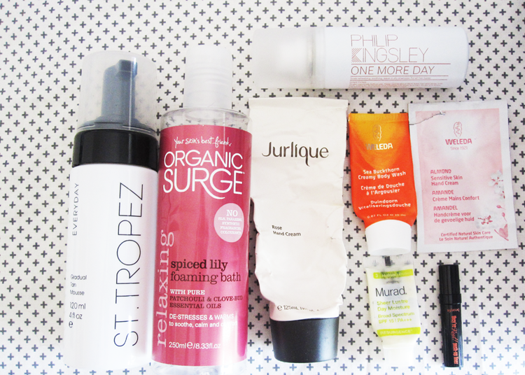 August Empties: Products I've Used Up