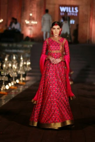 Rohit Bal | Wills Lifestyle Fashion Week | Anarkalis