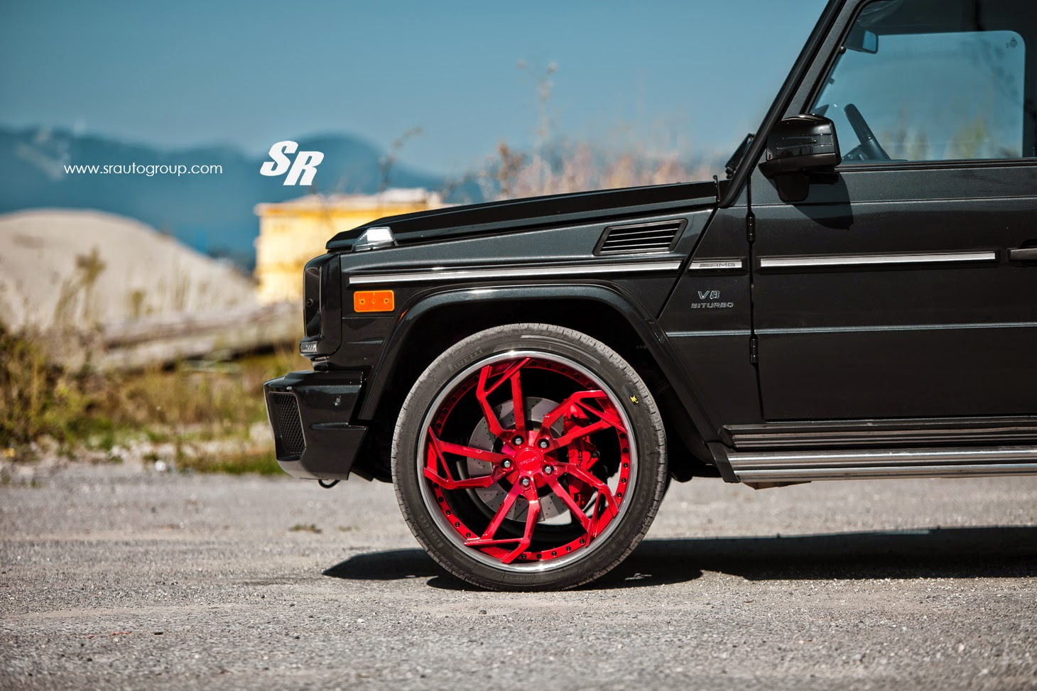 Benztuning mercedes benz g63 amg on 24 inch pur wheels for 24 inch mercedes benz rims