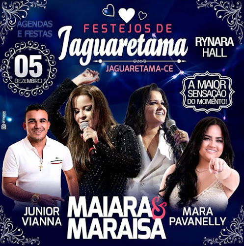 FESTEJOS DE JAGUARETAMA 2016 NO RYNARA HALL 05 DE DEZEMBRO