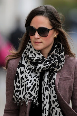 Pippa Middleton Long Straight Cut Hairstyle