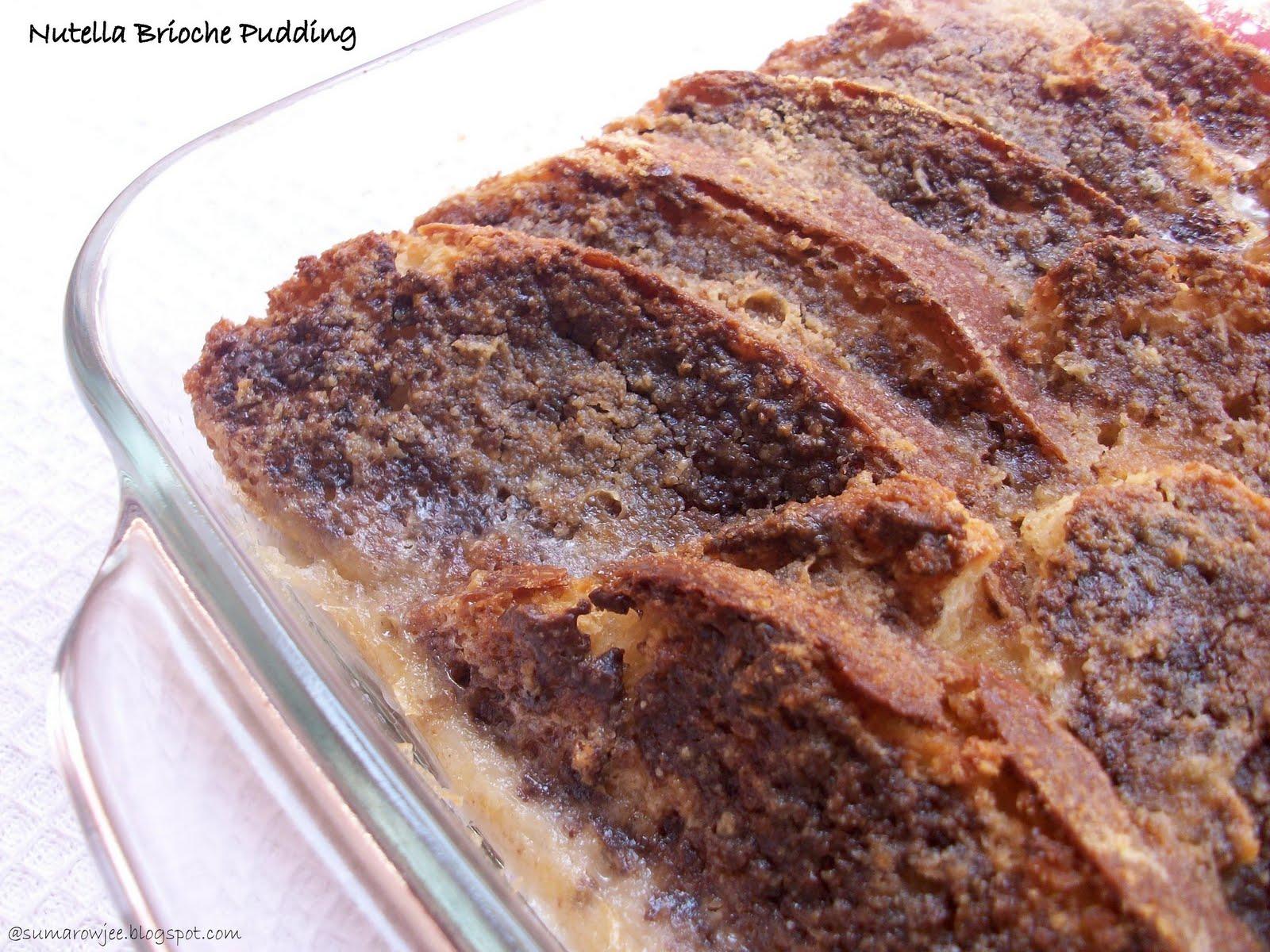 Cakes And More!: Nutella Brioche Pudding