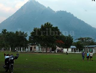 El cerro Ayapa en Yoro