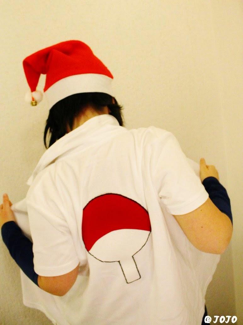 cosplay santa sasuke