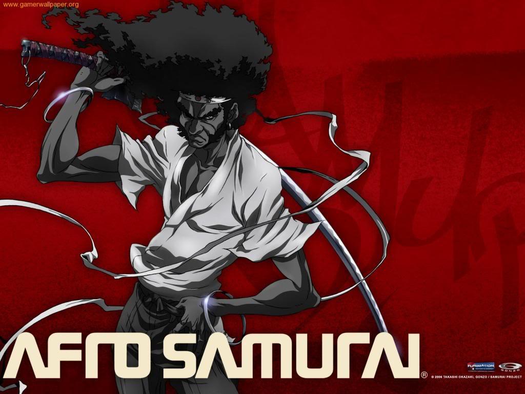 Courtney Baird Afro Samurai Wallpaper