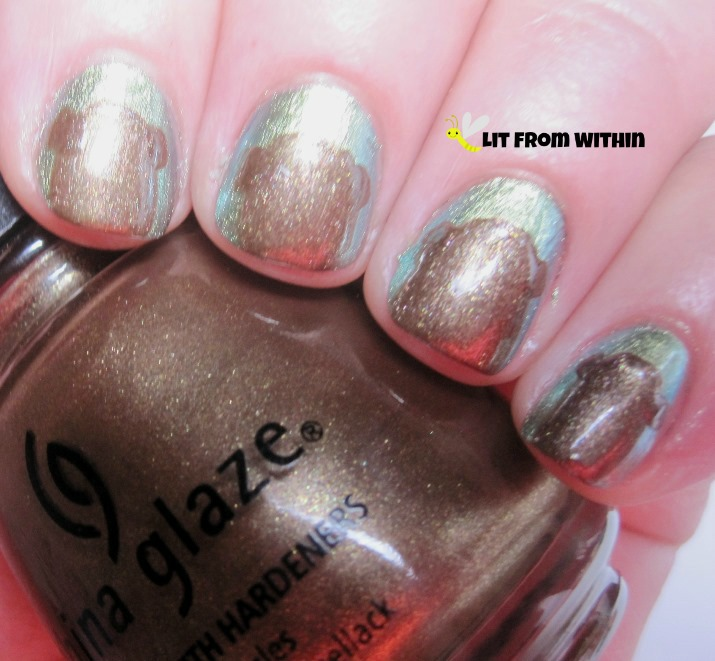 China Glaze Prize Winning Mare, a lovely shiny brown.