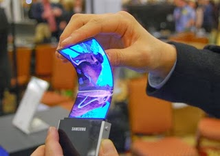 Specification of Samsung Flexible Smart Phone
