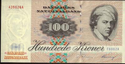 Danimarca 100 Kroner 1996 P# 54
