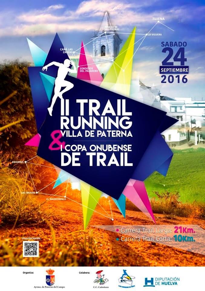 II TRAIL VILLA DE PATERNA 2016