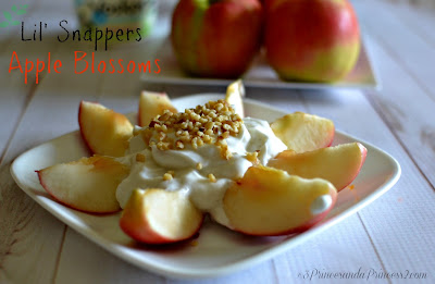 Apple Blossom #LilSnappers, Healthy Snacks for Kids