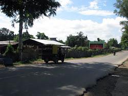 Seeing Aditi off in the auto rickshaw
