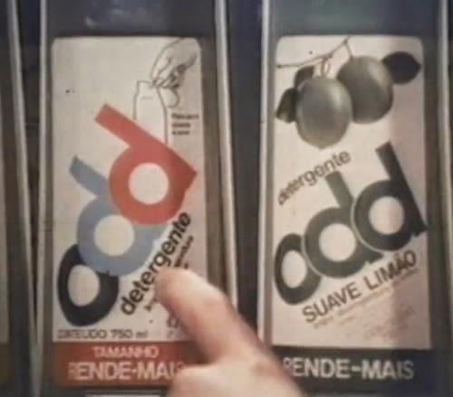 Quem lembra deste detergente que marcou as prateleiras do supermercados dos anos 80?