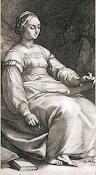 Hendrik Goltzius, Clio, 1592
