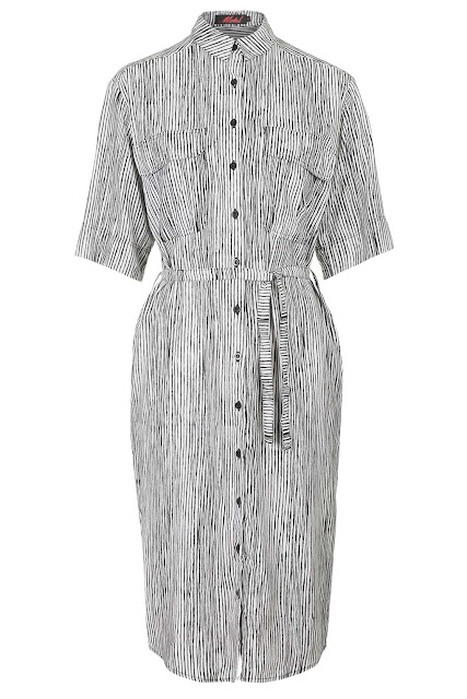 motel midi dress, grey midi shirt dress,