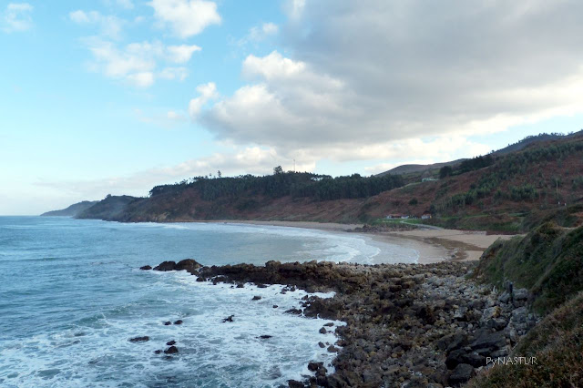 Arenal de Moris Beach Spain - Asturias