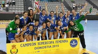 BALONMANO - Bera Bera imparable por cuarta vez consecutiva en la Supercopa