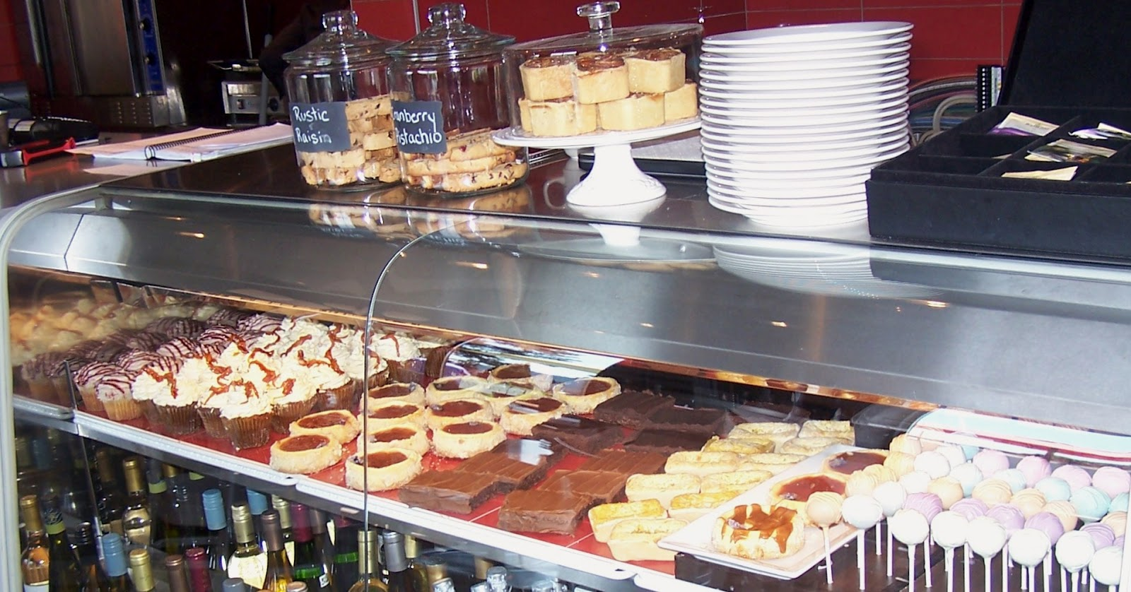 """Truly Scrumptious Desserts By Joanne: """"My"""" Display Case At"""