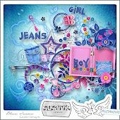 Blue Jeans by Susanne Designs