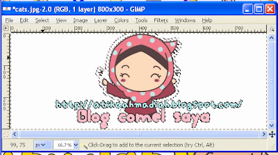 Photoscape, Download Photoscape, Tutorial Header guna Photoscape, Cara nak buat Header Guna Photoscape, Header Transparent, Cara buat Header Transparent, GIMP, Download GIMP, GIMP 2, Header Transparent guna GIMP
